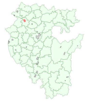 Город Дюртюли на карте