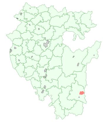 Город Сибай на карте