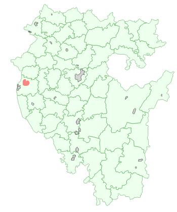 Город Туймазы на карте